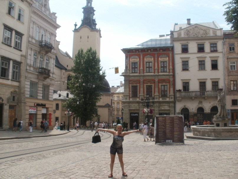 Мои путешествия. Елена Руденко. Украина. Львов. 2011 г.  Y_66394b0f
