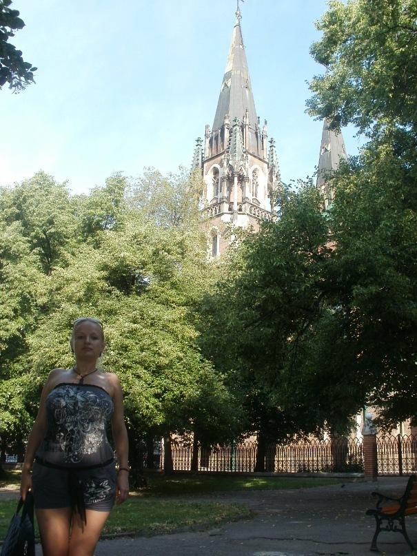 Мои путешествия. Елена Руденко. Украина. Львов. 2011 г.  Y_c8076e11