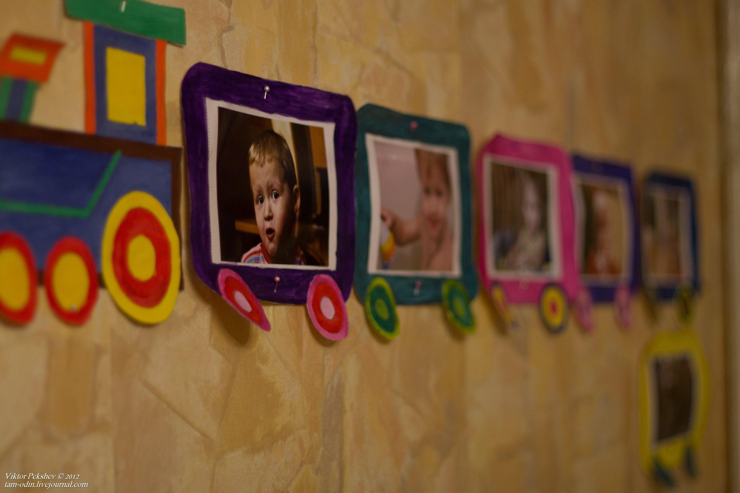 Рамки детские для фото своими руками