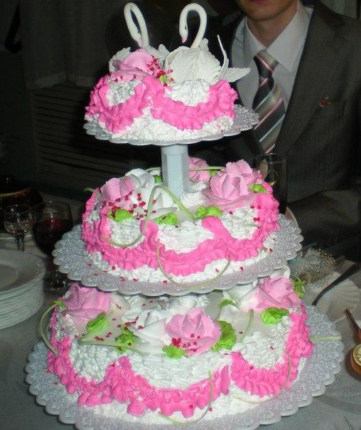 Замок любви торты свадебные