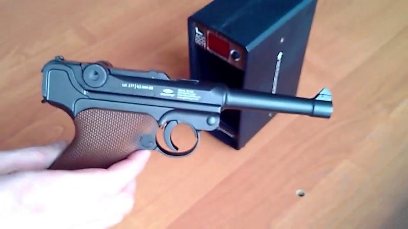 Отстрел на скорость Gletcher P08