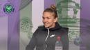 Simona Halep Semi Final Press Conference Wimbledon 2019