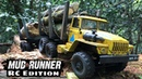 MudRunner RC Edition WPL B36 2 Speed Brushless URAL Timber Truck