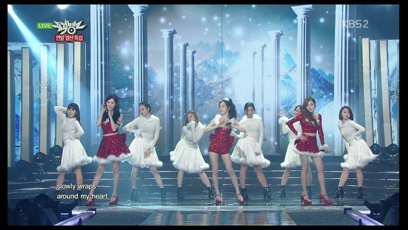 Girls Generation-TTS 소녀시대-태티서 Year End Special Diamond KBS MUSIC BANK 2014.12.19