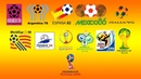Vinhetas e aberturas da Copa do Mundo na TV brasileira (1970-2018)