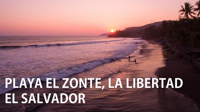 Playa El Zonte El Salvador