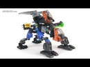 LEGO Hero Factory MOC: Surge + Rocka Combat Machine