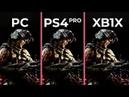 Call of Duty Black Ops 4 – PC 4K vs. PS4 Pro vs. Xbox One X Graphics Comparison