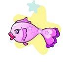 Купить женскую футболку Мини Рыбы. увеличить женскую майку Мини Рыбы.