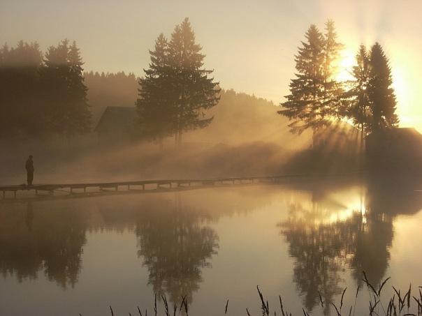 Арлановский пруд. Удмуртская Республика