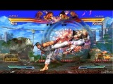 Street Fighter X Tekken 8 Минут Геймплея HD