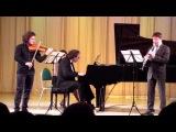 Хачатурян. Трио для кларнета, скрипки и фортепиано