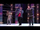 Emblem3 and Vincent Thomas - Sunset Blvd X Factor USA 2012
