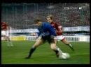 Zanetti v s Baresi - Maldini - Desailly .. Amazing Skill By ZANETTI FORZA CAPITANO