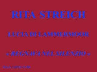 Rita Streich Lucia di Lammermoor Regnava nel silenzio D G G LPEM 19 368
