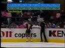 Наталья Бестемьянова, Андрей Букин, произвольный танец Рапсодия на тему Паганини чемпионат мира-86.