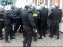 Pseudokibice atakują policjantów w Szczecinku