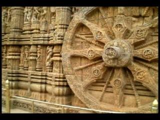 Конарк. Индия. Древний Храм Шри Сурья-Нараяны.