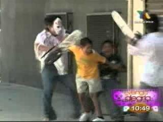 Los destrampados - la broma del terror 1/11/11