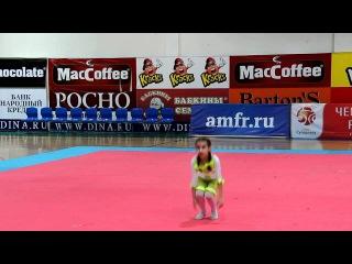 Камилла Галеева, 8 лет, соло беби, черлидинг
