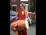 Paki Girl Punjabi Dhol on Rehana song