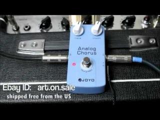 Joyo JF-37 Analog Chorus Pedal