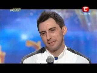 Украина має талант 5 сезон - Винченцо Дилилло (Пицца)