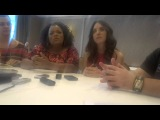 Yvette Nicole Brown and Alison Brie Interview at Comic-Con 2012