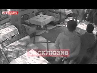 Устроили перестрелку в московском ресторане Олива