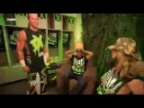 DX-Funny Moments (Hornswoggle Super Kicks Shawn Michaels)