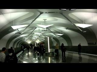 Станция метро Новокосино в день открытия