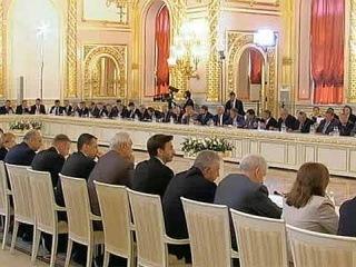 Экономический рост и повышение уровня жизни населения обсуждались на заседании Госсовета - Первый канал