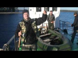Озеро Онега. Рыбалка с катера, джигом и на отводной