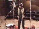 Michael Jackson recording We Are The World in the Studio.