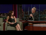 Kate Beckinsale (Letterman show 2008)