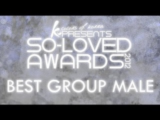so-loved Awards 2012 - Best Group male