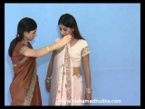 How to wear a saree in Ulta Pallu Style