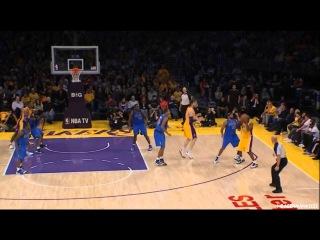 Kobe Bryant hits unbelievable shot