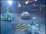 Hypno-Disc vs RaizerBlade vs Predator (Robot Wars Battle)