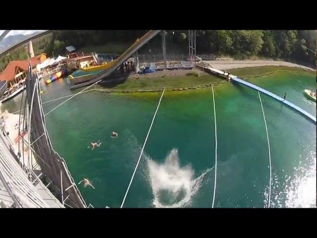 THE LACK OF FEAR CLIFFDIVING vs. TRAMPOLINE EDIT 2012 *HD*
