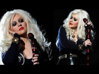 Christina Aguilera Michael Forever Tribute Inspired Makeup