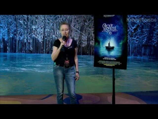 Видео к фильму «Cirque du Soleil: Сказочный мир в 3D»: Интервью с Терри Барлеттом и Эрикой Линц