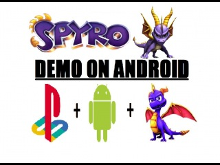 Spyro The Dragon On Android - Playstation Game - FPse Emulator - Samsung Galaxy Note 2 - No Root!