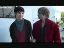 Colin morgan and bradley james (Merlin and Arthur) you make my dreams come true