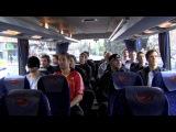 Busfahrt Deutsche Handball Nationalmannschaft