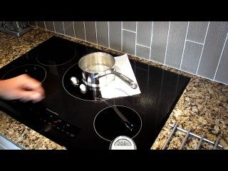 Тест-демонстрация: как работает индукционная поверхность