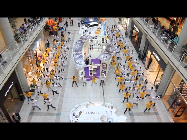 PSY-Gangnam Style Official Budapest Flash Mob by No Comment Hip Hop and Midnight Meeting-The Party