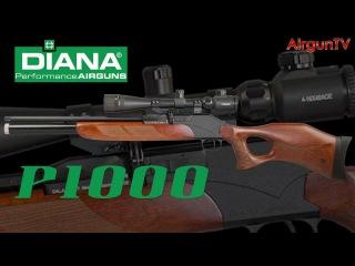 FIRST LOOK - Diana P1000 air rifle PCP