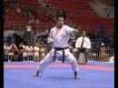 Kata Men's final 2nd place Naoto Maruoka JPN Sochin