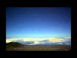НЛО два неопознанных объекта вошли в атмосферу, снято обсерваторией Гавайев 19 01 2013
